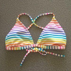 🌈 ROXY Reversible Cross Back Bikini Top